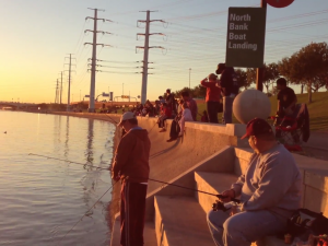 Last Years Annual Welcome Back the Trout at Tempe Town Lake